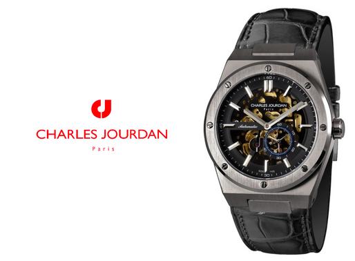 Charles Jourdan: Patron Mechanica, Gents Automatic CJ1106-1732A