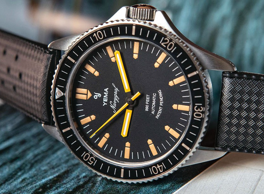 Yema; Navygraf Heritage, Automatic Dive Watch