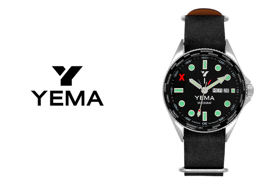 Yema: Spacegraf GMT Expertly crafted, a synonym of creativity and function.