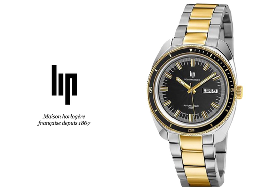 LIP: MARINIER AUTOMATIC 671358 An impeccable timepiece, ready for aquatic adventures or boardroom di