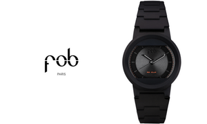 acheter vaste sélection professionnel FOB Paris, RS matte black Solar Watch. Contemporary Made ...