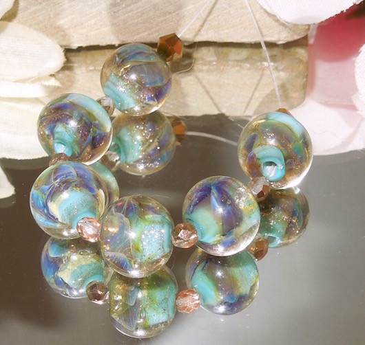 Aqua Mint Rounds