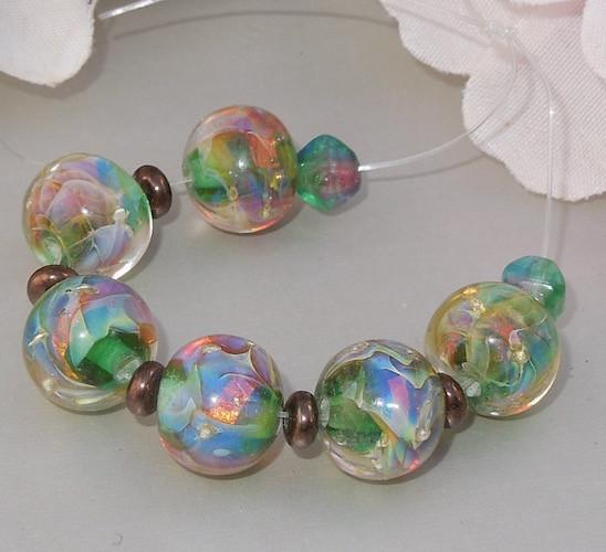 Teal Opals