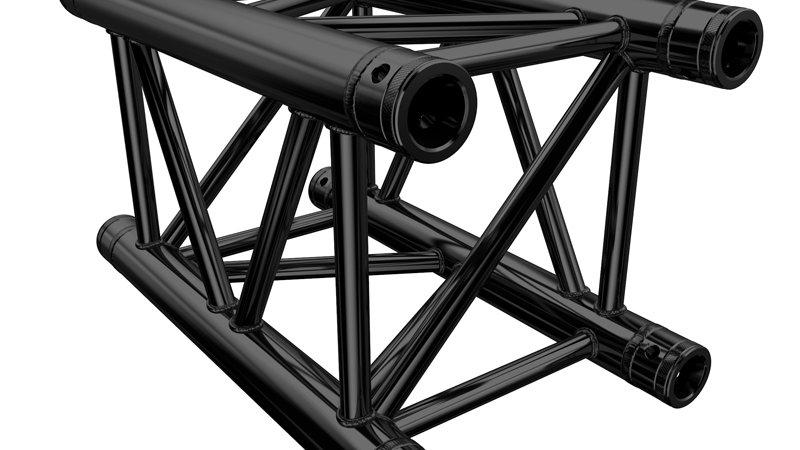 Global Truss F34 - Black 0.5m