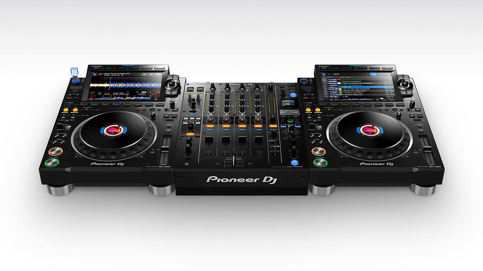 Pioneer CDJ-3000+DJM-900 NXS2