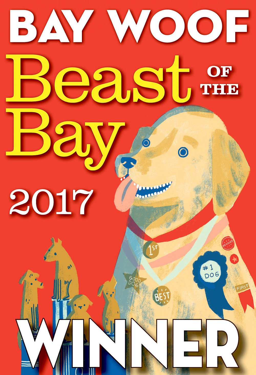 Bay Woof Beast Of The Bay Winner Best Dog Walker In San Francisco 2017