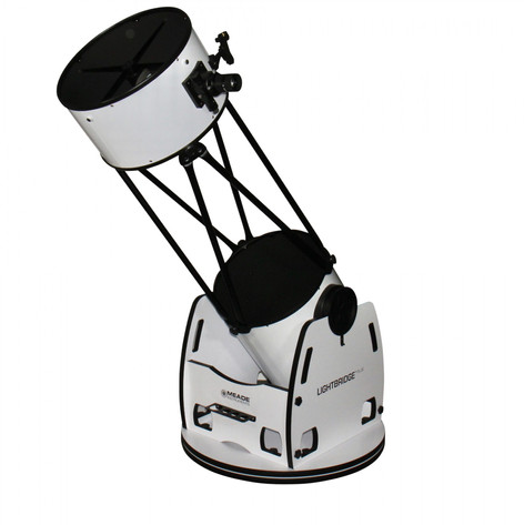 "Skip to the beginning of the images gallery Meade 16"" LightBridge Plus Dobsonian Telescope"