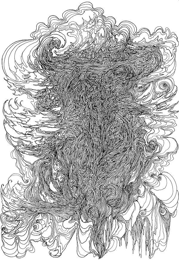 Fairy, Faery, Sidhe, Celtic, Gaelic, Norman Shaw, artist, drawing, Otherworld, liminal, Austin Osman Spare, William Blake, surrealist automatic drawing,WY Evans-Wentz, Robert Kirk, liminal, mystical