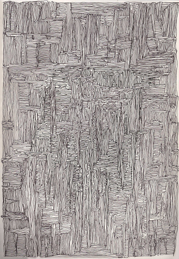 Norman Shaw, artist, drawing, highland landscape, drawing, ossian, sonorous, deleuze, rhizomes, graham harman, weird realism, speculative realism, paul klee