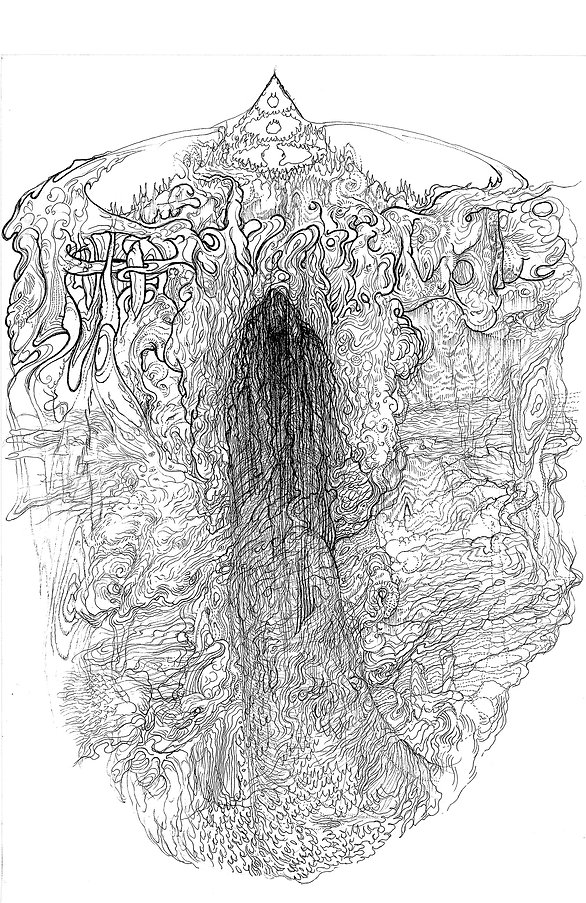 north cosmos stalker norman shaw art drawing bisionary weird