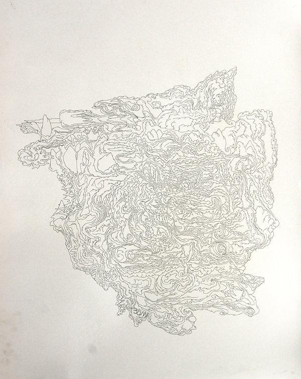 Norman Shaw, artist, drawing, celtic, gaelic, otheworld, fairy, faery, visionary, nemeton, hallucinatory