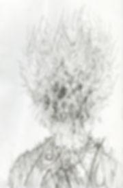 norman shaw artist drawing head consciousenss thomas ligotti weird realism
