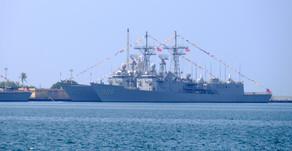 請為敦睦艦隊的指揮官陳道輝少將祈禱