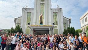 左營聖女小德蘭堂朝聖地舉行2020年將臨期靈修避靜
