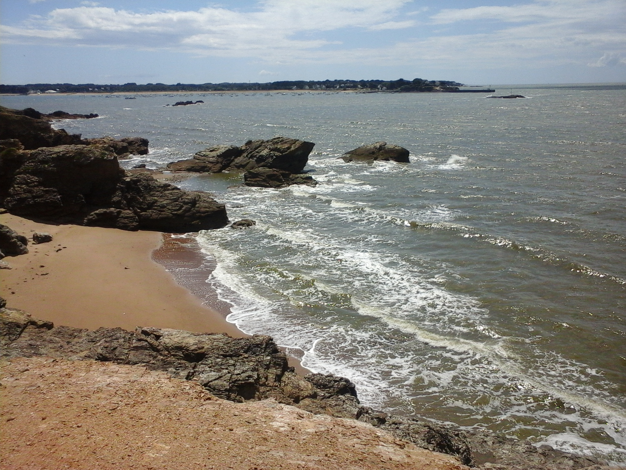 La mer, qu'on voit danser...