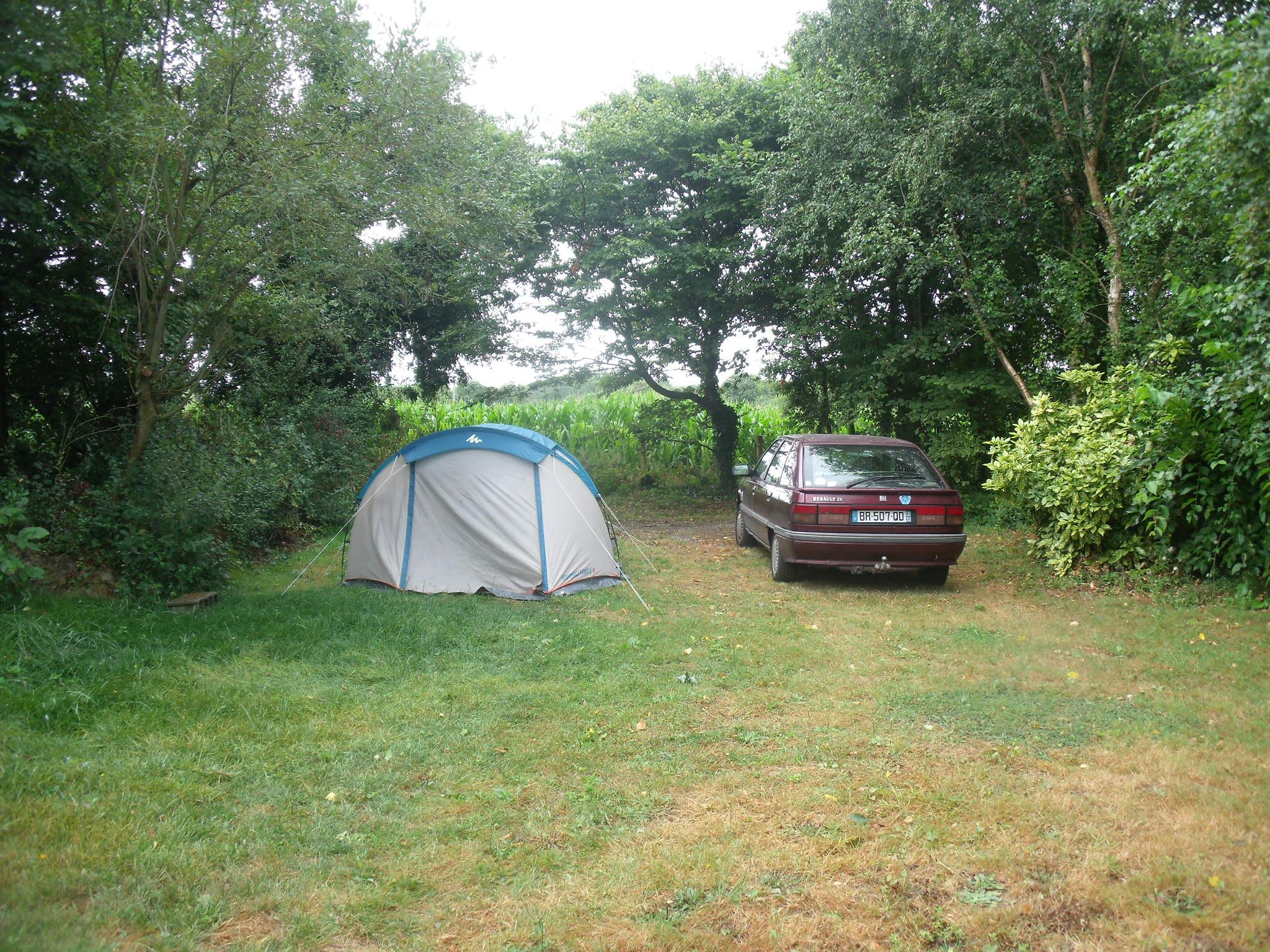 Arrivée au camping d'Isson (Asserac)
