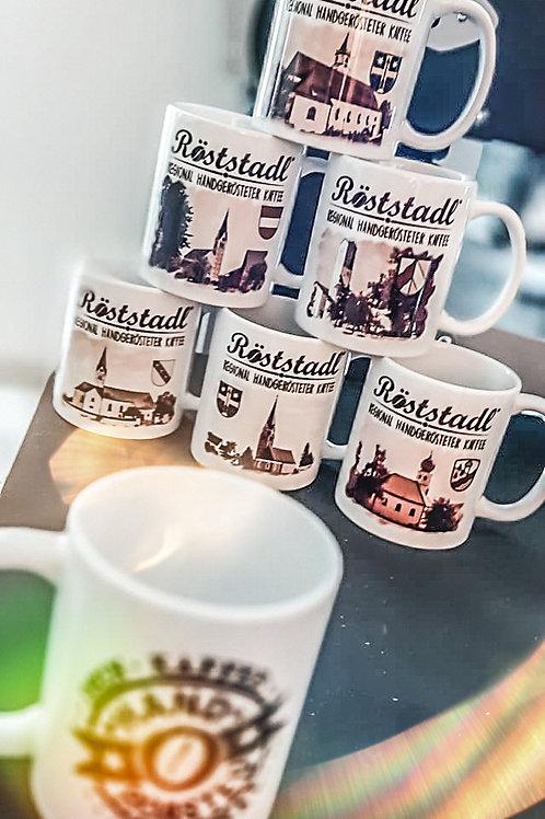 """Kaffeetassen-Set """"Markt Essenbach"""""""