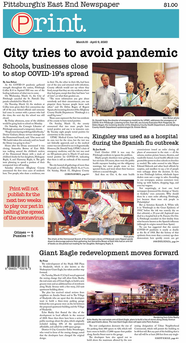 City tries to avoid pandemic - page 1.jp