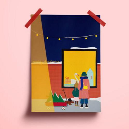 Postkarte // oh Tannenbaum