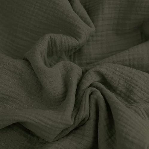 Musselintuch // khaki