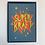 Thumbnail: Postkarte // Superkraft Blau