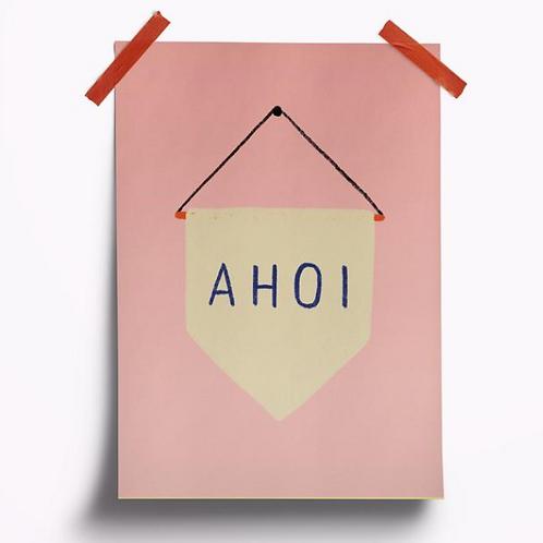 Postkarte // Ahoi Rosa