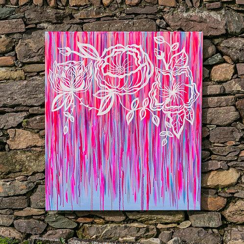 Pastel and Neon 70 x 80cm