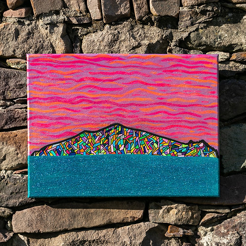 The Sleeping Giant 40 x 30cm