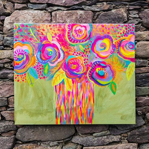 Burst of Colour 60 x 50cm