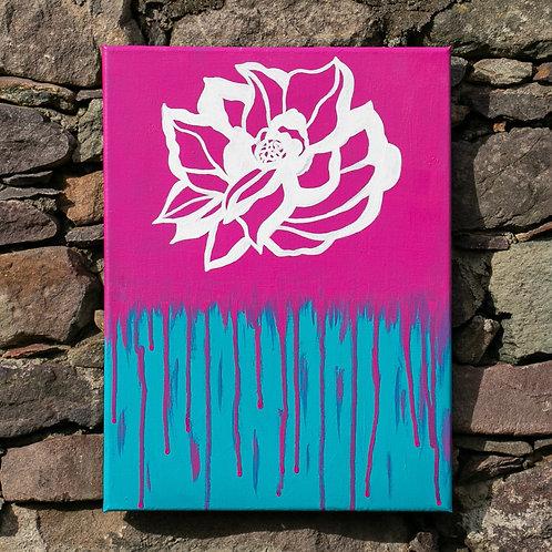 Pink Tears 30 x 40cm