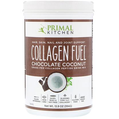 Primal Kitchen Chocolate Coconut Collagen Peptide Drink Mix
