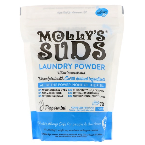 Natural Laundry Detergent Eczema Molly's Suds