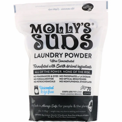 Mollys Suds Laundry Powder