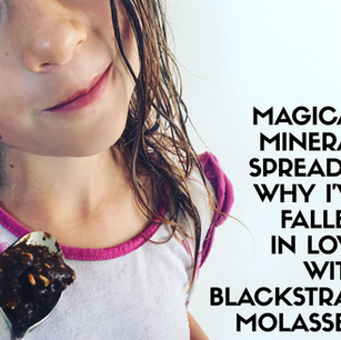 My Magical Mineral Recipe + Why I've Fallen in Love with Blackstrap Molasses