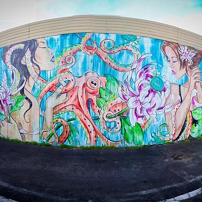 P.B. Murals