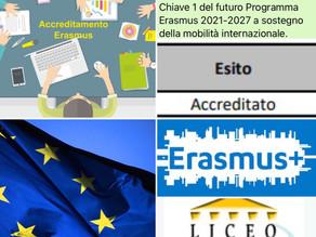 ACCREDITAMENTO ERASMUS: il  Liceo De Sanctis ottiene questo importante traguardo