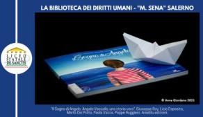 """La Biblioteca dei """"Diritti Umani"""" al """"Liceo Classico De Sanctis"""" di Salerno."""