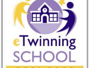 Al De Sanctis riconoscimento eTwinning Schools Labels 2021-2022