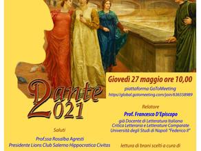 """""""Dante2021"""": Donne e Madonne"""