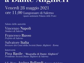 Obiettivo raggiunto: una piazza per Dante Alighieri a Salerno!
