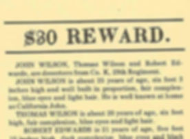 Civil War Reward Notice For John C Wilson.jpg