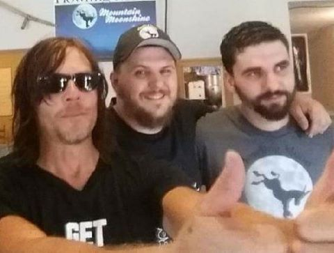 Austin, me, and Norman Reedus from the walking dead.jpg  This was right after we finished filming Ri