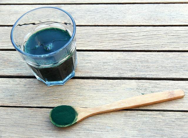 Algues d'eau douce, spiruline, klamath, chlorella