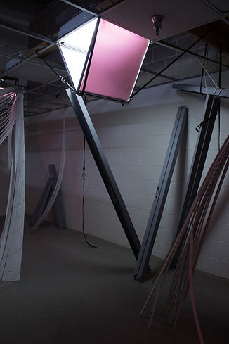 "Site specific sculptural and installation made for ""Some Fine Women"" at Vast Space Projects Las Vegas, Nevada"