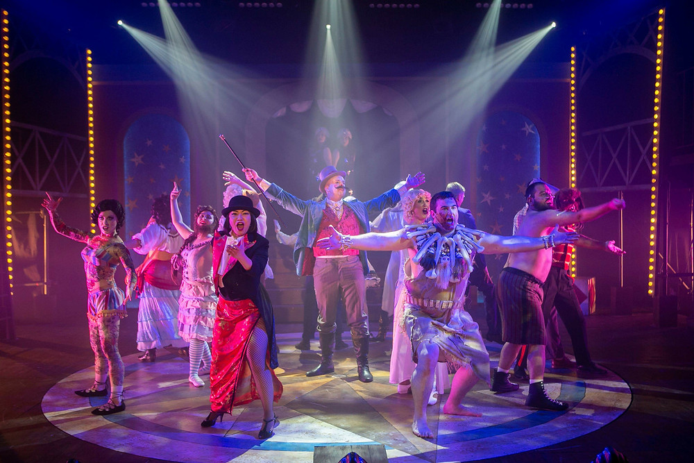 The 'freaks' of Side Show