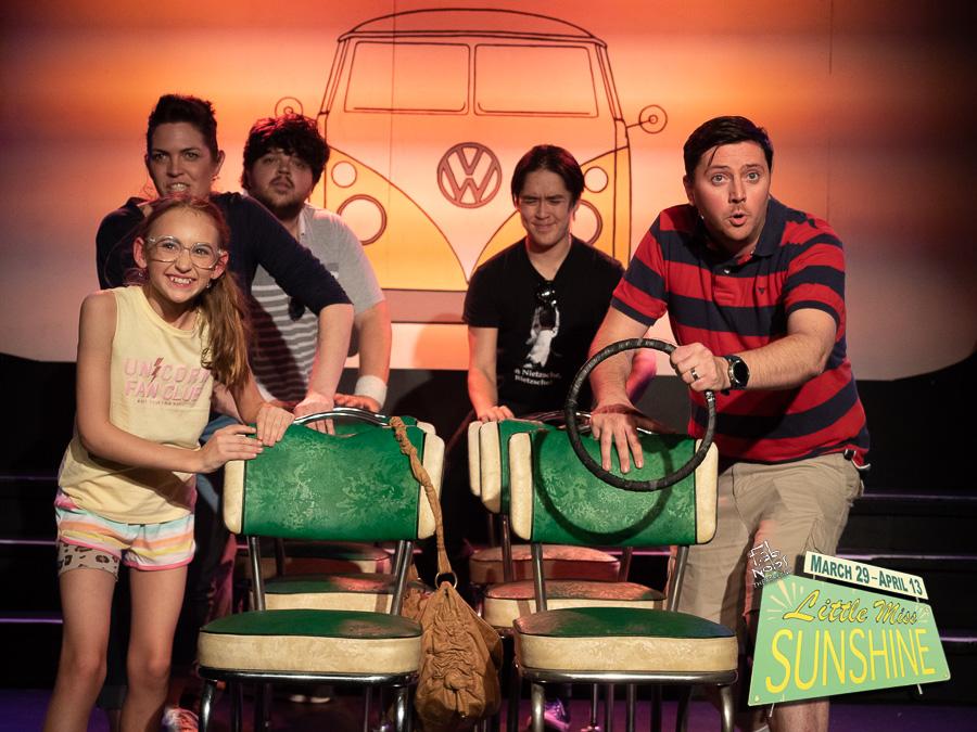 The cast of Little Miss Sunshine