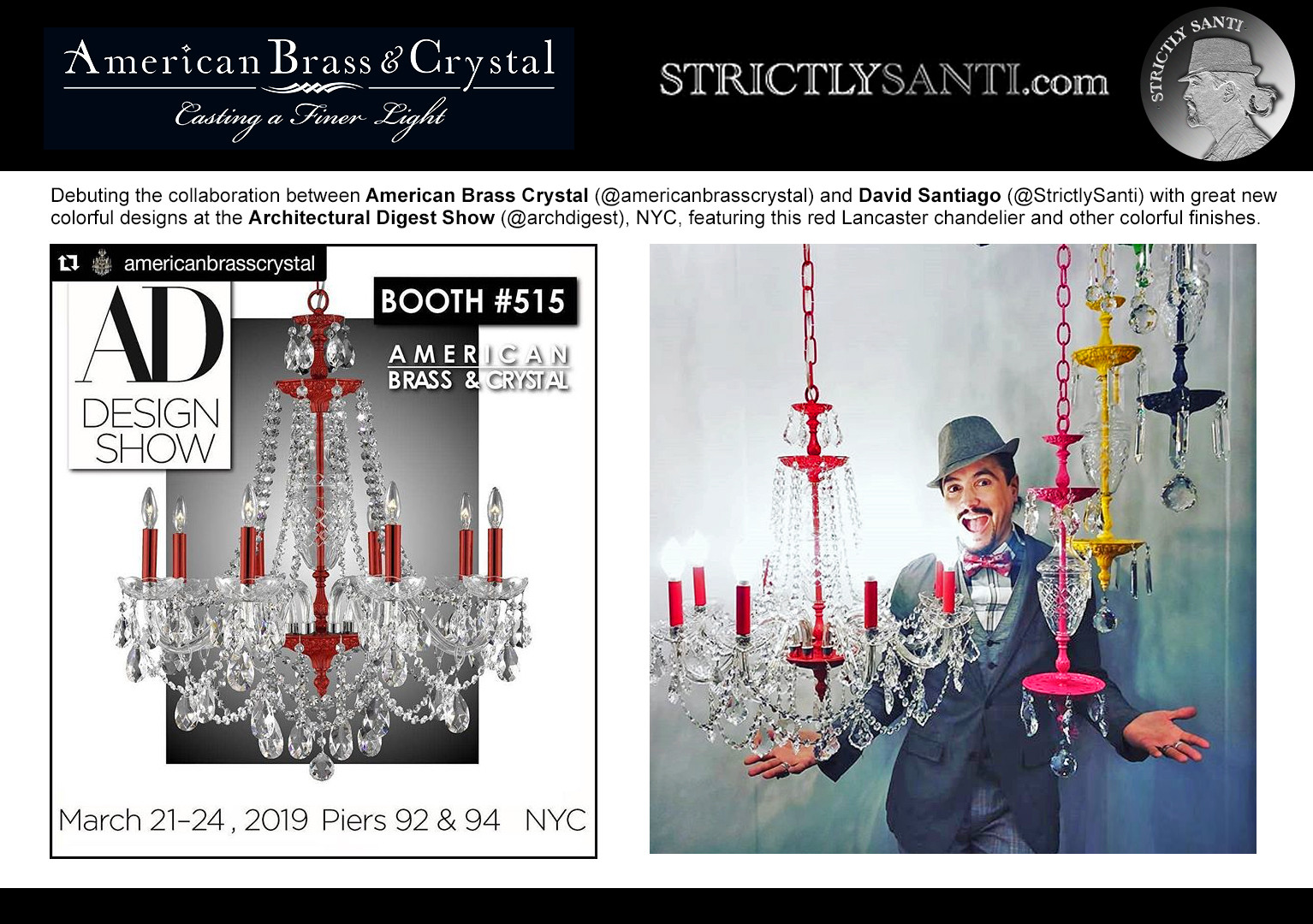 Architectural Digest Show Spring 2019