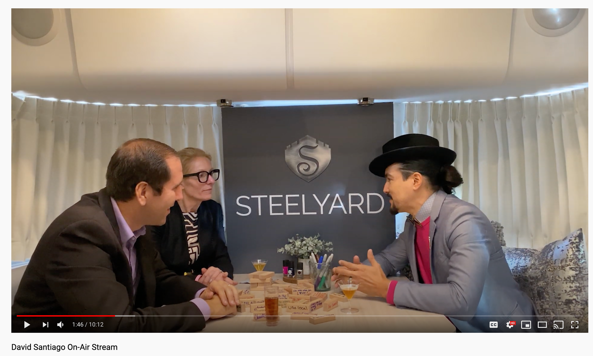 STEELYARD - David Santiago On-Air Stream