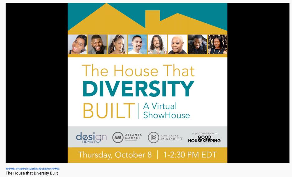 DESIGN ON HPMKT - The House that Diversity Built