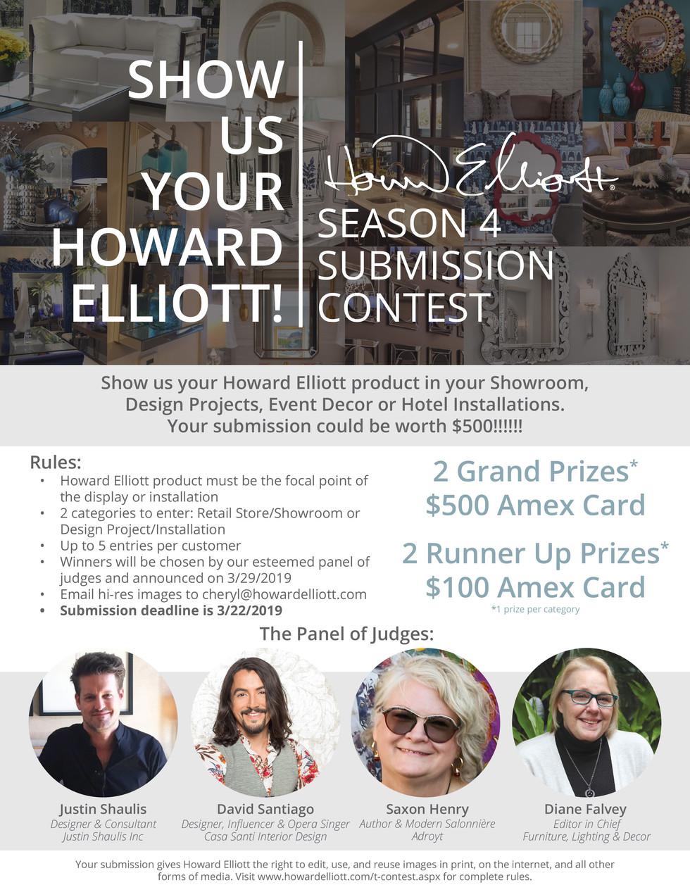 Howard Elliot - Judge Panel